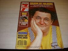 TELE 7 JOURS 1537 11.1989 COLUCHE MADONNA Gérard LANVIN Guy MARCHAND