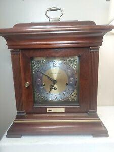 Large Howard Miller Triple Chime Mantel Shelf Clock 612-436 SEW01 354 577 WOW!!