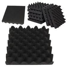 One Acoustic Soundproofing Egg Crate Foam Studio Room Wedge Panel Tile 25X25X5CM