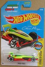 Hot Wheels 2017 23 of 365 Speedy Perez Hotwheels Legends of Speed - Long Card