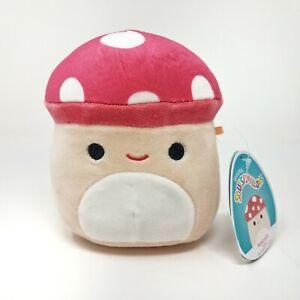 """5"""" Malcolm Squishmallow Mushroom RARE BNWT HTF NWT Uncommon Food Squishmallow"""