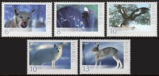 Norway 1467-1471, Mnh. Wildlife. Lynx, Capercaillie, Eagle, Fox, Hare, 2006