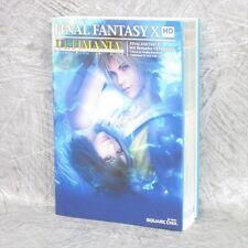 FINAL FANTASY X 10 HD Ultimania w/Map Guide Japan PS3 PSVita Book SE97*