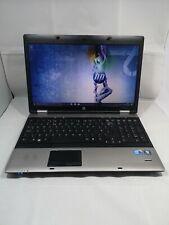 "HP Probook 6550b Intel Corei3 M380 @2.40GHz 4GB RAM 320GB HDD 15.6"" WIN10 PRO"