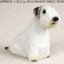 Sealyham Terrier Mini Resin Dog Figurine Statue Hand Painted