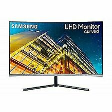 Samsung LU32R590CWNXZA 31.5 Inches 16:9 Curved UHD Monitor - Dark Blue Gray