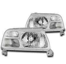 FOR 1999-2003 SUZUKI GRAND VITARA/2002 XL-7 CHROME REPLACEMENT HEADLIGHTS LAMP