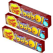 Chupa Chups Babol COLA LEMON bubble gum -Pack of 18 pieces-FREE Shipping