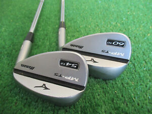 MIZUNO MP-T5 GF FORGED WEDGE SET 54* & 60* WEDGES SAND LOB STEEL NICE GRIPS RH