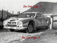 Attilio Bettega MARTINI LANCIA 037 RALLY NEW ZEALAND RALLY 1983 fotografia 5
