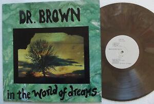 """DR.BROWN """".....IN THE WORLD OF DREAMS"""" ETICHETTA BEARD004-VINILE COLORATO"""