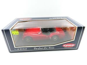 Kyosho Triumph TR3A RED 1:18 OVP # 49