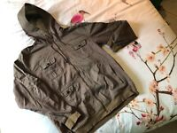 Adidas Green Cotton Jacket L - Rare