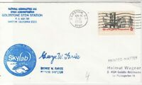 United States 1973 Nasa Barstow Skylab Round Special Cancel Stamp Cover ref22791