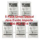 URNEX DEZCAL ESPRESSO COFFEE MAKER SCALE REMOVER CLEANER 5 Pack #1 USA DEALER!