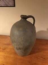 Early Antique Stoneware- 2 Gallon Redware Ovoid Jug