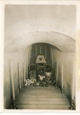 Paris, Le cercueil du Maréchal Foch aux Invalides, dans la Chapelle de la Crypte