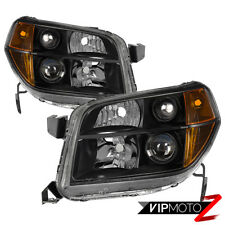 {FACTORY STYLE} 2006-2008 Honda Pilot Black Housing Headlights Lamps Replacement