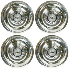 OER WR1014S Disc Brake Style Center Caps 1965-67 Chevy Rally Wheels Stainless St