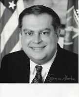 Spencer Abraham US Secretary of Energy Signed Autograph Photo