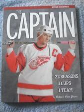 """NEW 2006 """"STEVE YZERMAN - THE CAPTAIN"""" (22 SEASONS - 3 CUPS - 1 TEAM)"""