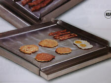 "Make-A-Griddle 24"" Commercial Steel Griddle/Grill Plate (4 Burner, Stovetop)"