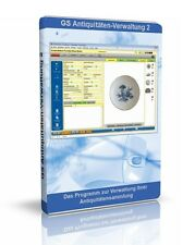 Antiquitäten-Verwaltung 2 - Software zur Verwaltung Ihrer Antiquitäten Sammlung