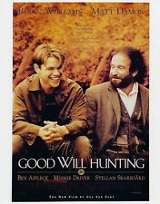 Good Will Hunting 8X10 Poster Photo Movies Picture Robin Williams Matt Damon