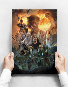 The Lord Of The Rings - A3 Poster