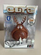 Kids Animal Mini Bluetooth Wireless Portable Universal Speaker Reindeer