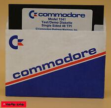 COMMODORE Model 1541 TEST / DEMO DISKETTE / Gebraucht / TOP ZUSTAND