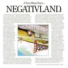 NEGATIVLAND - ESCAPE FROM NOISE  CD NEW+