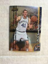 1998-99 Topps Finest Dirk Nowitzki rookie # 234 Mavericks With Protective Peel