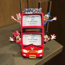 Disney Parks Shanghai 2019 Mickey & Minnie & Donals & Daisy Bus Photo Frame