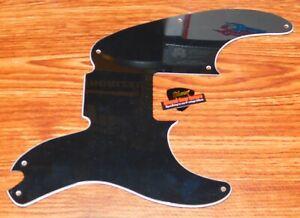 Fender Mike Dirnt P Bass Pickguard Roadworn Precision Guitar Parts 3 Ply Black