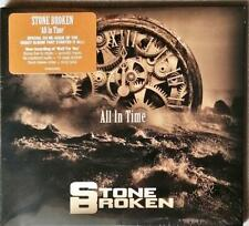Stone Broken  All In Time  Cd Sealed Special Re-Issue Edition + Bonus Tracks