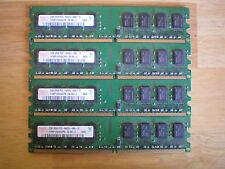 Hynix HYMP125U64CP8-S6 DDR2 PC2-6400 PC2-6400U Desktop RAM LOT (4) x 2GB = 8GB