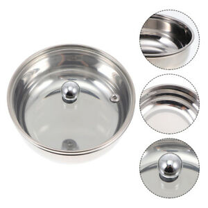 1Pc Practical Durable Stew Bowl Stainless Steel Bowl for Restaurant