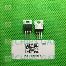 30PCS MOSFET Transistor IXYS TO-220 IXTP60N20T TP60N20T