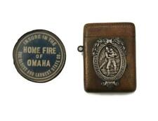 Firemen'S Fund Match Safe Plus Home Fire Of Omaha Lot 325