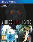 PS Vita PSV Zero Escape virtue's Virtudes Last Reward NUEVO Y EMB. orig.