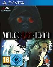 PS Vita PSV zero Escape Virtue 'S virtues LAST REWARD NUOVO & OVP pacco postale