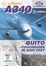 """Lufthansa Airbus A340 - """" Quito / Equador - Touchdown in 9000 Feet """""""