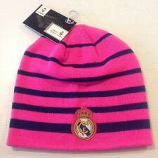 Real Madrid FC Neon Pink Beanie Winter Hat Cap New W/Tags