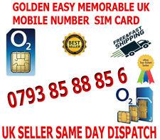 GOLDEN EASY MEMORABLE UK VIP MOBILE PHONE NUMBER 0793 85 88 85 6 PLATINUM SIM