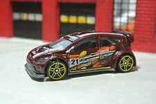 Hot Wheels '12 Ford Fiesta - Brown - Loose - 1:64