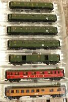 Fleischmann 5678 - 5683, Fleischmann 5691 H0 Konvolut 7x Schnellzugwagen DB Ep.3