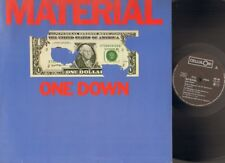 MATERIAL One down LP NMINT Nile Rodgers BILL LASWELL Archie Shepp FRED FRITH ao