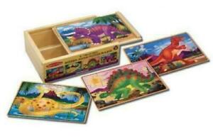 Melissa and Doug 12 Piece Wooden Jigsaw Puzzle On The Farm
