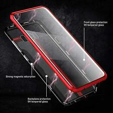 Case For Samsung Galaxy Note 10 Plus Aluminum Magnetic Cover Shockproof Red